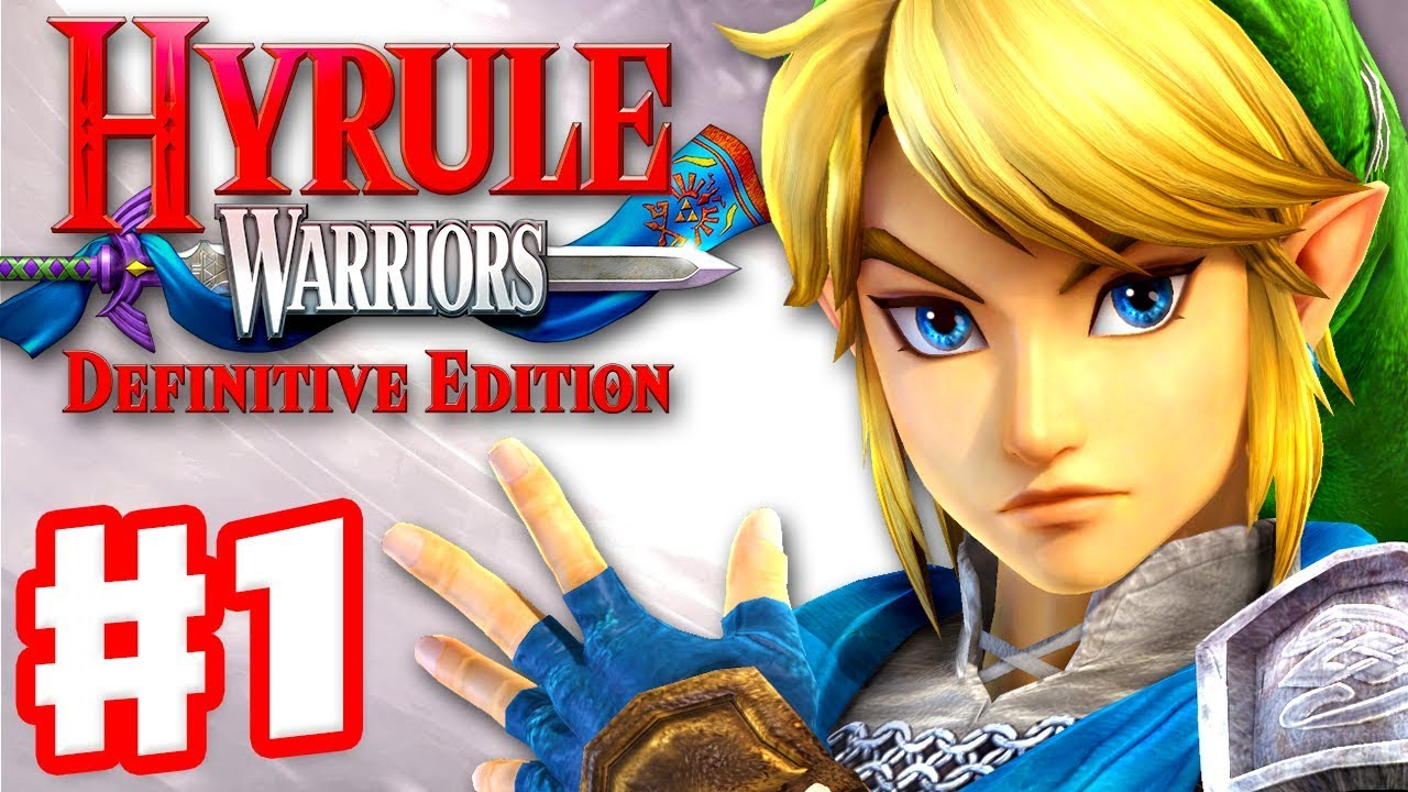 Hyrule Warriors Definitive Edition Gameplay Walkthrough Part 1 Link In Hyrule Field Youtube