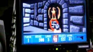 Wolfenstein 3D on 10 MHz 286 computer