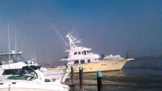 Close Call for $2,000,000+ Yacht in Dana Point Harbor Tsunami