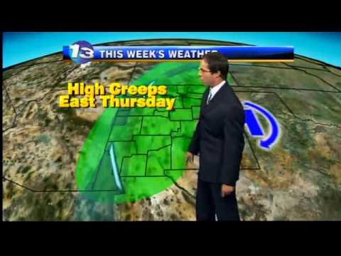 Mark Ronchetti KRQE Weather Forecast 8-31-11