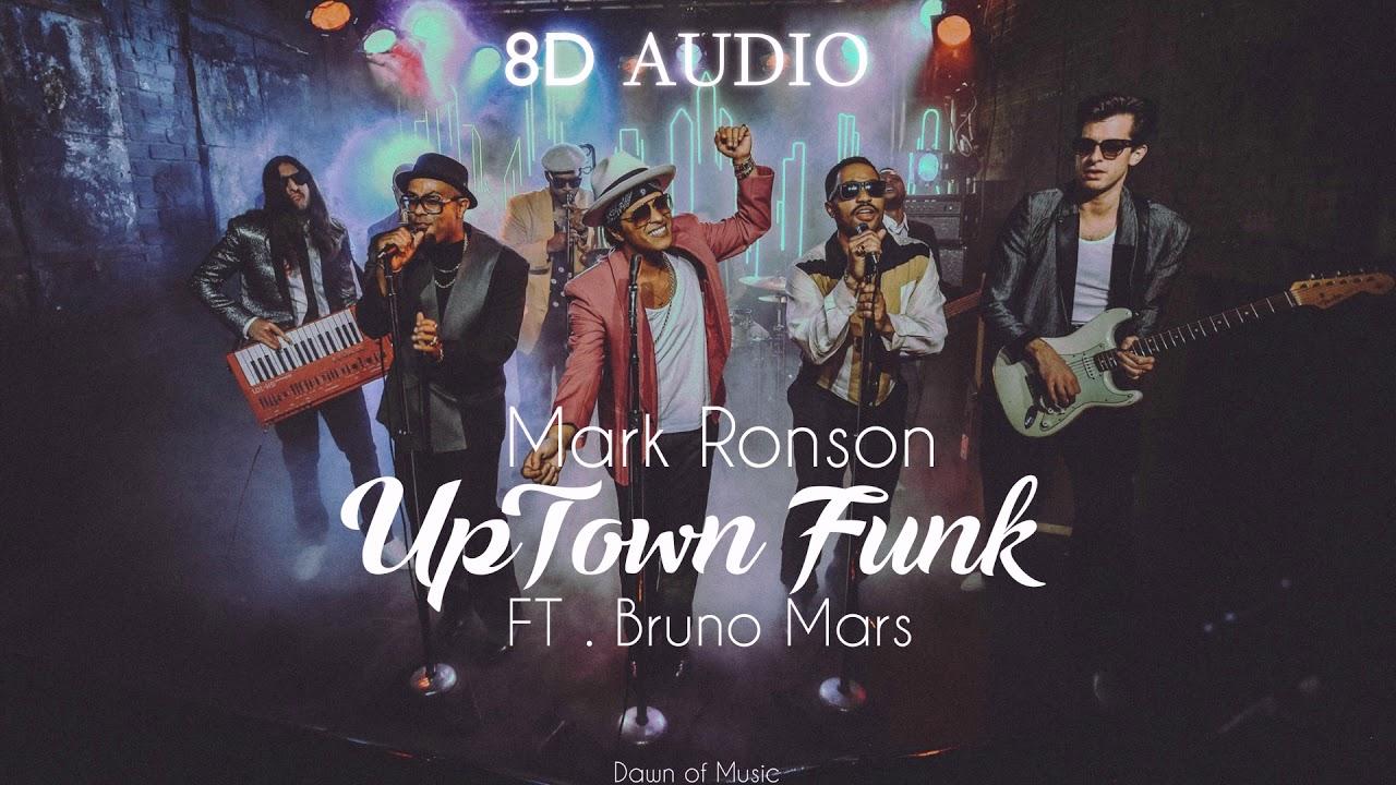 Mark Ronson - UpTown Funk ft  Bruno Mars | 8D Audio || Dawn of Music ||