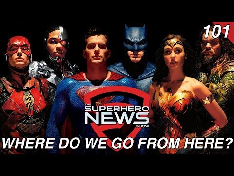 Superhero News #101: Justice League box office disappointment and the future of DC Films