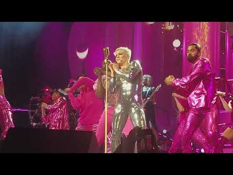 Pink - Get the Party Started & Beautiful Trauma (Live in Indianapolis March 17th, 2018)