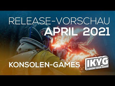 Games-Release-Vorschau - April 2021 - Konsole