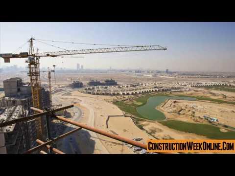 Construction progress at Artesia Tower A at Damac Hills, Dubai