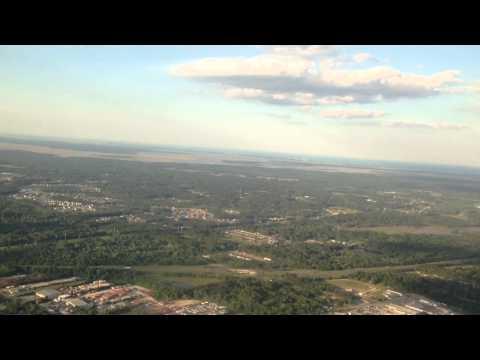 Landing at Jacksonville International Airport