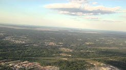 Landing at Jacksonville International Airport