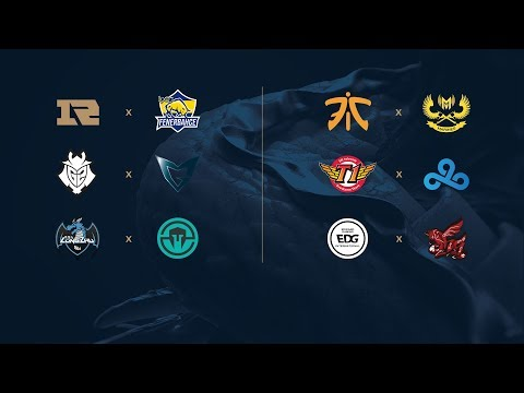 Campeonato Mundial de League of Legends 2017 - Fase de Grupos - Día 1