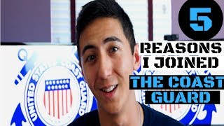 Top 5 Reasons I Joined the Coast Guard