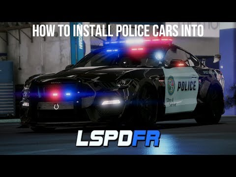 How to install Police Cars into LSPDFR : lspdfr