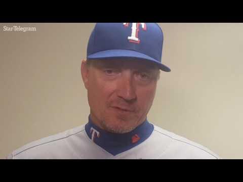 Rangers manager Jeff Banister