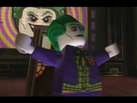 LEGO Batman 2: DC Super Heroes (3DS) - 100% Walkthrough Part 1 - Gotham Theatre