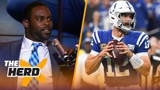 Michael Vick on Andrew Luck's return, Khalil Mack's debut during Week 1 | NFL | THE HERD