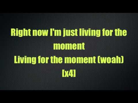 Living For The Moment - N-Dubz (Lyrics On Screen)