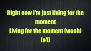 Living For The Moment - N-Dubz (Lyrics On Screen)