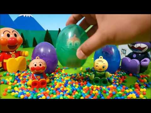 Anpanman egg❤Anpanman toys anime anime Episode 22 Anpanman Surprise Eggs