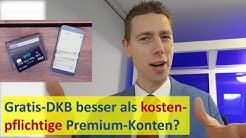 Gratis-DKB besser als Deutsche Bank mit Gebühren? Vergleich ✅