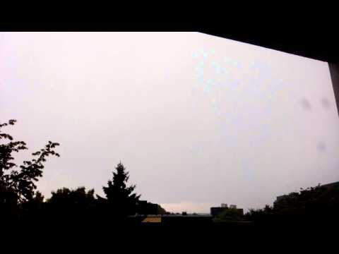 #Thunderstorm HD #Germany #Wiko #Stairway recorded