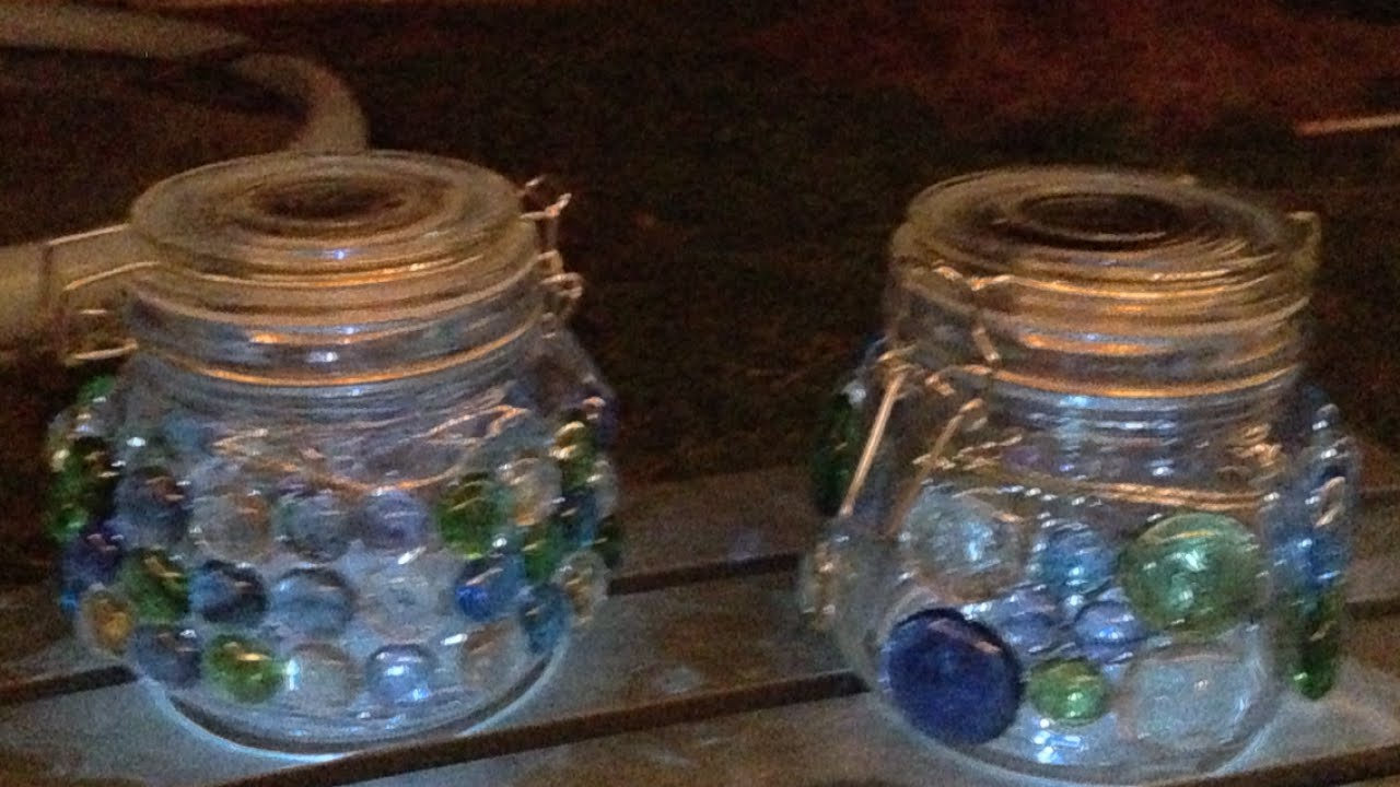 make beautiful solar powered decorative jars home guidecentral - Decorative Jars