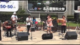 2013.8.11 タコフライ4thライブ@栄広場 4曲目:ライジングハート/福...