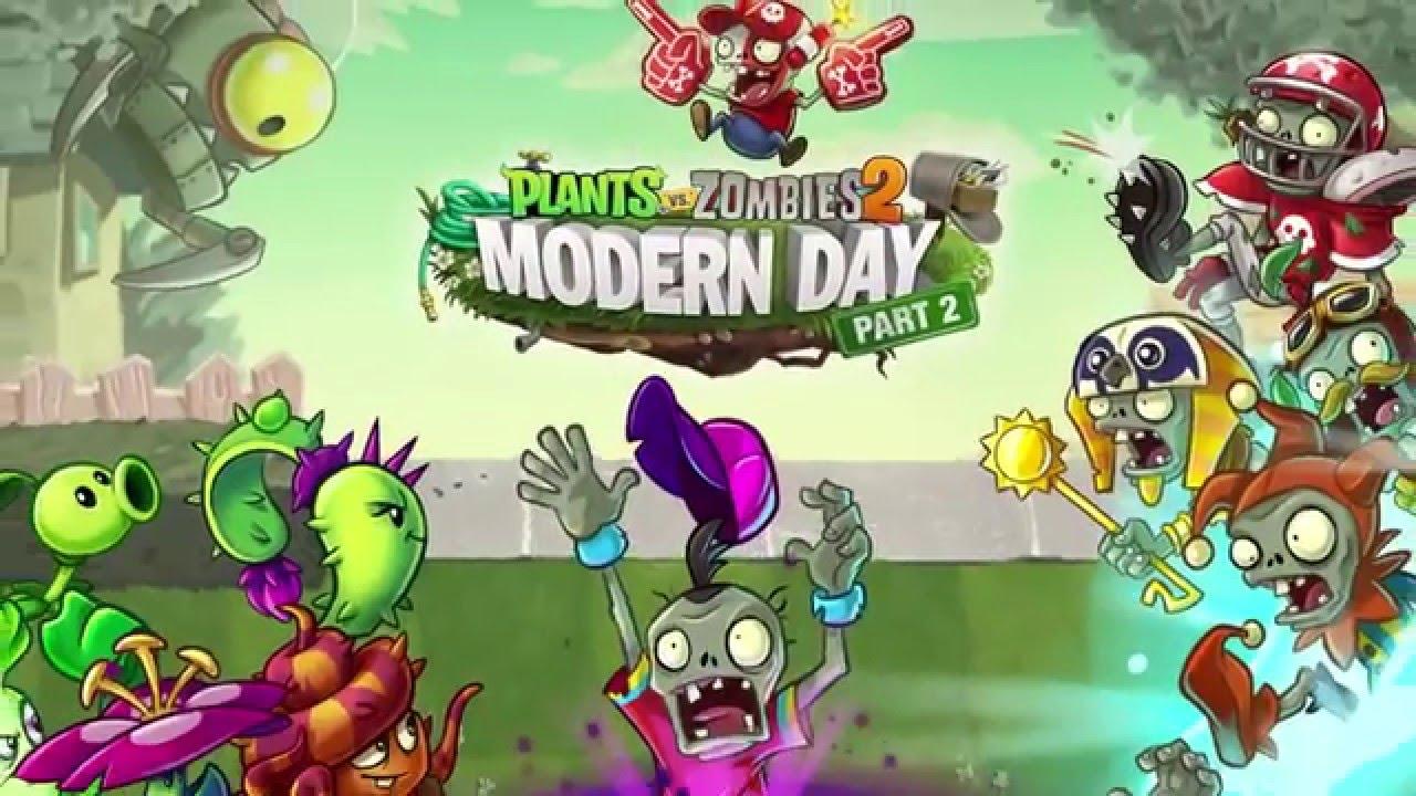 plants vs zombies 2 modern world part 2 dev diary