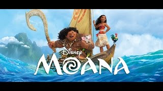 *NEW* Disney MOANA Movie Story Book Read Along Aloud with Real Character Voices