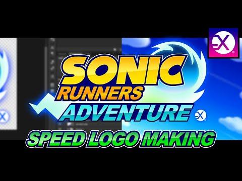 Sonic Runners Adventure Speed Logo Making
