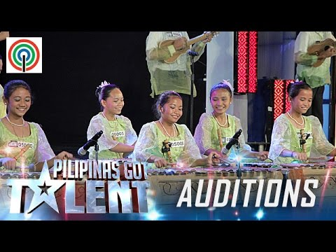 Pilipinas Got Talent Season 5 Auditions: Alicia Bohol Musika Kawayan - Bamboo Musicians
