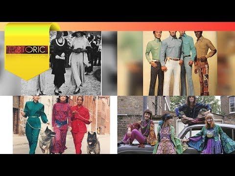 HISTORIC - The Origin of Fashion Styles & Designs