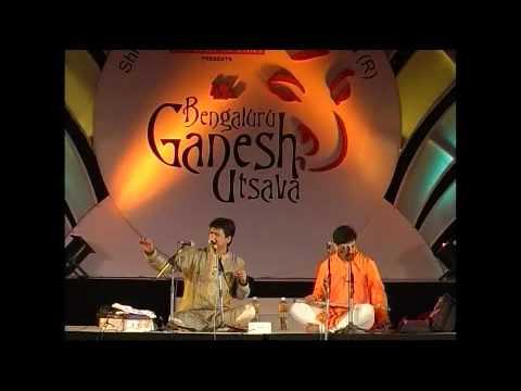 Vijayprakash performing at 47th Bengaluru Ganesh Utsava