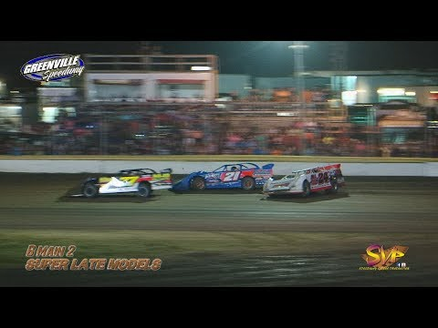 Supers Late Model B Mains Greenville Speedway 11th Gumbo Nationals Oct 6th & 7th, 2017