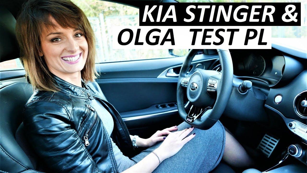 2018 Kia STINGER GT 3.3 V6 AWD & Olga TEST DRIVE [Jazda Próbna]