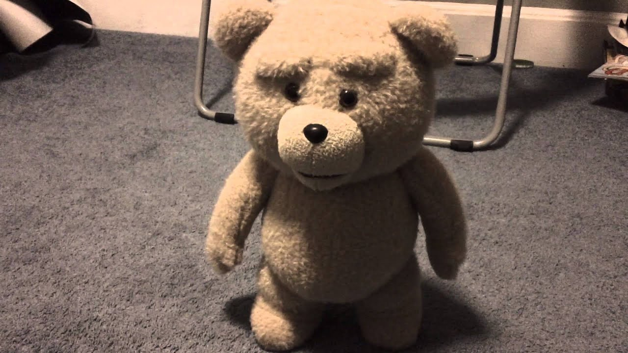 """ted the talking bear Although ted is, well, a stuffed teddy bear, the filmmakers of universal pictures'  new adult comedy """"ted 2"""" must ensure that he reacts perfectly."""