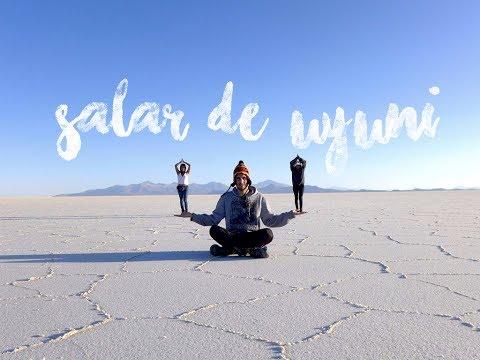 SALAR DE UYUNI - BOLIVIA TRAVEL PART 1 || Michelle Silva