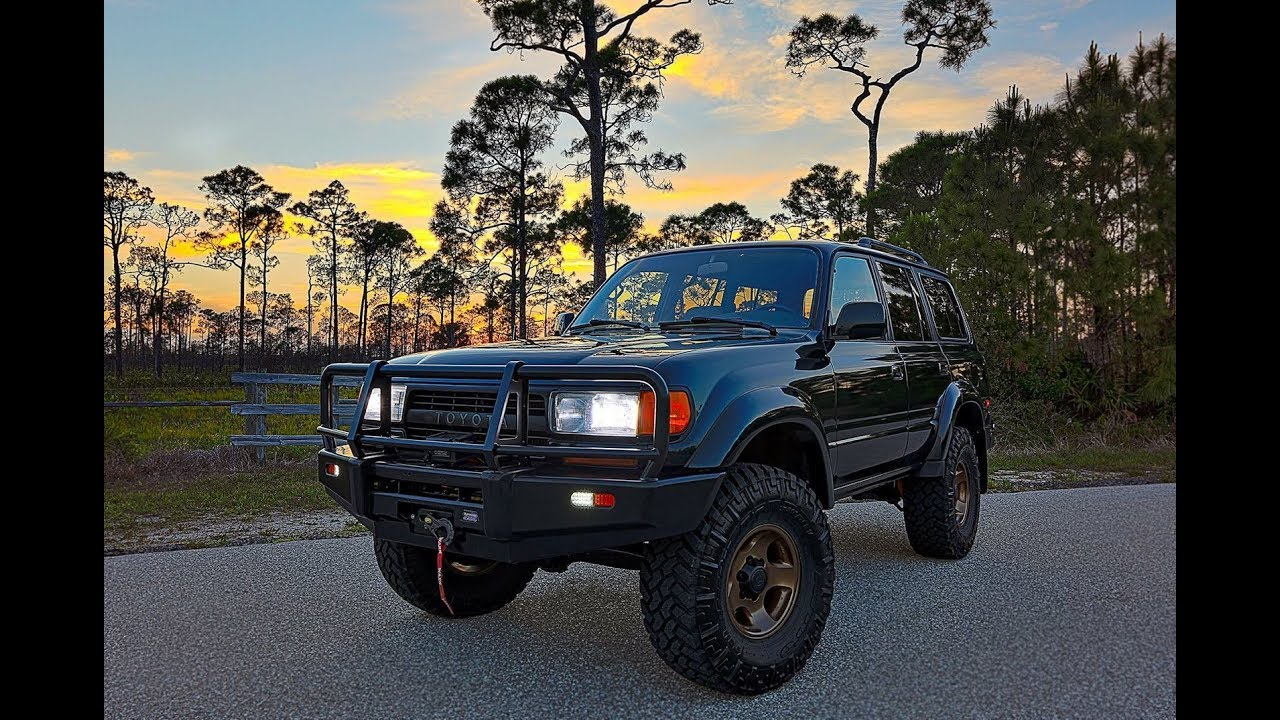 For Sale: Fresh Build, 1994 Toyota Land Cruiser Lots of NEW Parts