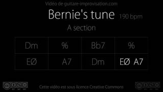 Download Bernie's Tune (A section) : Backing Track MP3 song and Music Video