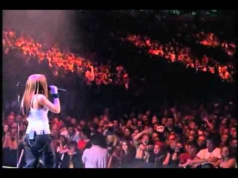 Avril Lavigne - Unwanted 2002 (Buffalo NY concert)