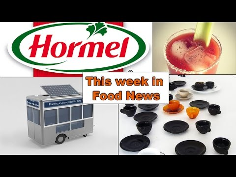 Hormel Goes Organic and NYC Food Carts get Solar Panels