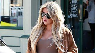 Pregnant Khloe Kardashian Swaps Stilettos for Sneakers!