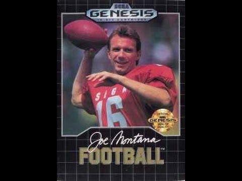 Joe Montana Football (Sega Genesis) - Game Play