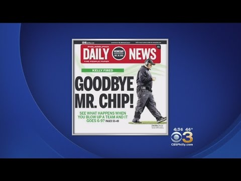 Goodbye Mr. Chip! Philadelphia Daily News Marks Departure Of Chip Kelly