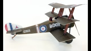Microaces 1/24th Scale Sopwith Triplane in flight This is a video o...