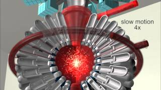 Fusion Reactor 3D Animation