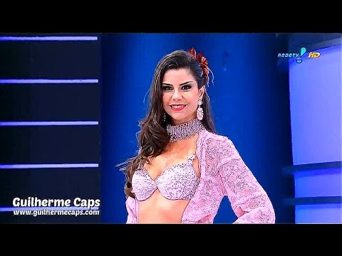 Женское нижнее белье на бразильском телевидение \ Lingerie Show Live On Brazilian Television.