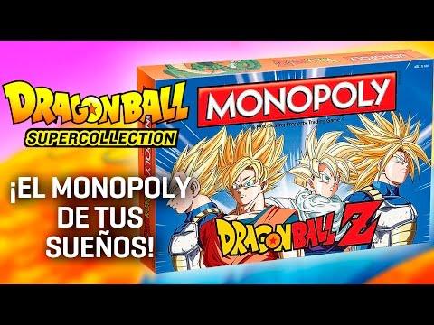Unboxing del Monopoly de Dragon Ball Z - Dragon Ball Super Collection