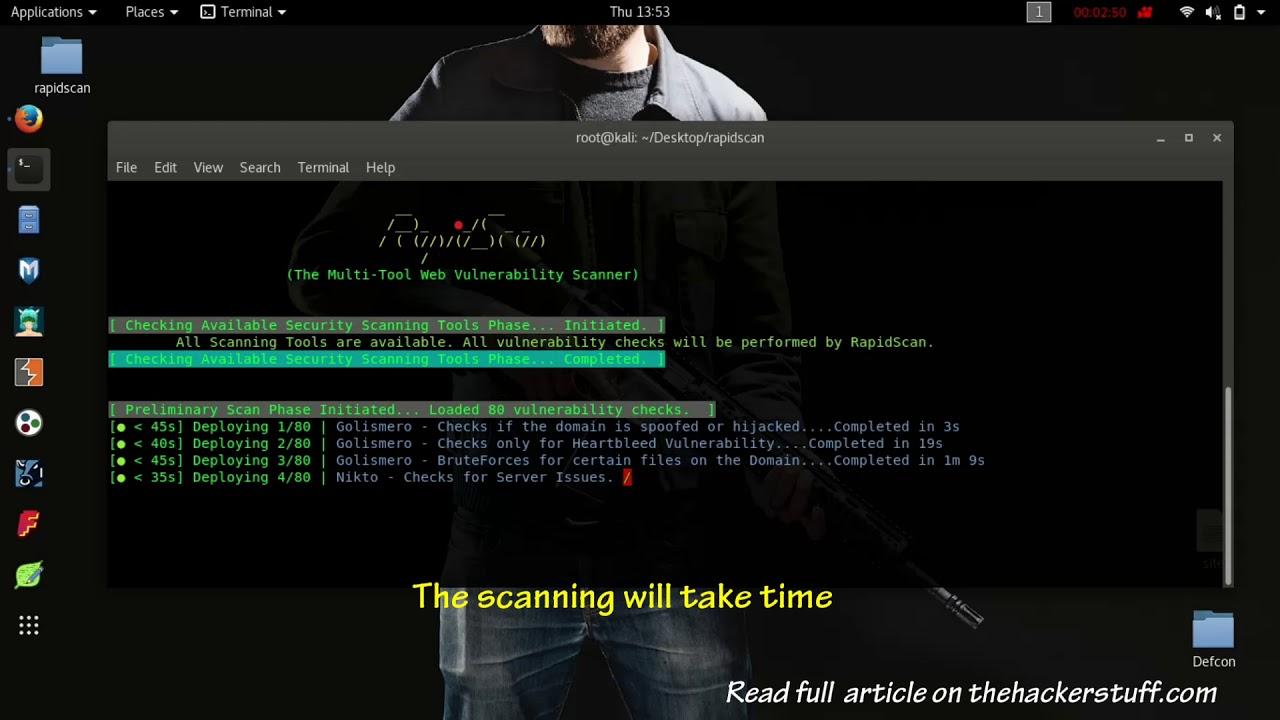 RapidScan – The Best Multi-Tool Web Vulnerability Scanner 2018