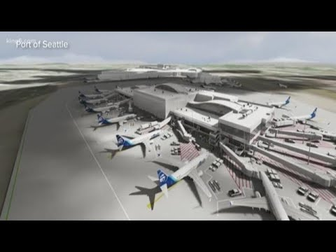 Sea-Tac Airport Opens New Terminal