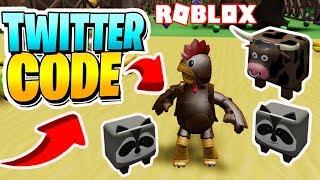 NOUVEAU SIMULATEUR DE POULET 2 ' CODE ' Simulateur de poulet 2 Roblox! Animaux