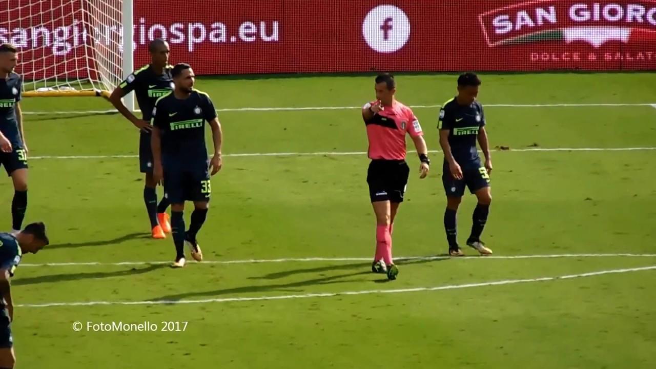 INTER-BENEVENTO 2-0 - Radiocronaca di Giulio Delfino ...  |Benevento- Inter