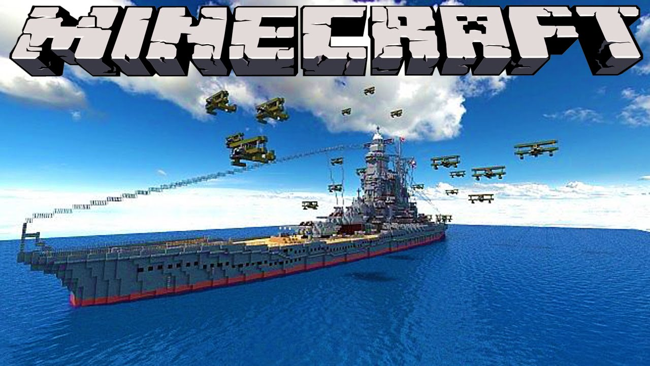 Minecraft : BATTLESHIPS - 'LITTLE LIZARD VS TINY TURTLE'